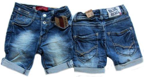 Blue Rebel Bermuda Shorts Amber Low Crotch Sandblast Gr. 158