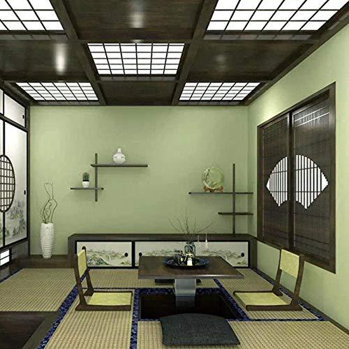 Tatami behang groene Japanse kamer Japanse decoratieve behang slaapkamer restaurant Japanse groene thee groen behang