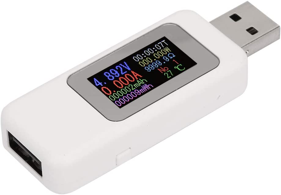 Power Charger Voltmeter Color Max 77% OFF Screen USB Indianapolis Mall LCD Tester Di Portable