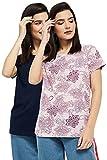 Max Women's Regular T-Shirt (RINCESMU21MULTI_Multi XXL)
