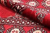 Nain Trading Pakistan Buchara 2ply 231x76 Orientteppich Teppich Läufer Rost/Rosa Handgeknüpft Pakistan - 2