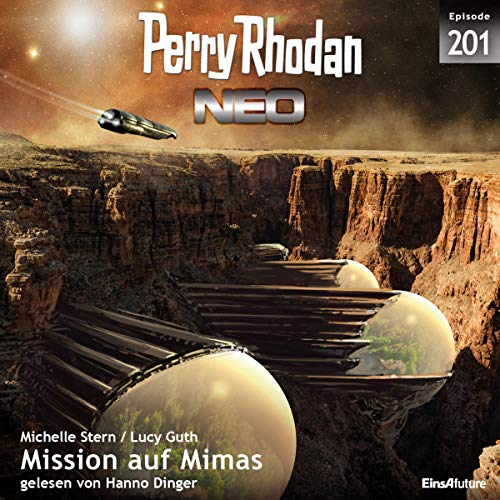 Mission auf Mimas     Perry Rhodan Neo 201              Autor:                                                                                                                                 Michelle Stern,                                                                                        Lucy Guth                               Sprecher:                                                                                                                                 Hanno Dinger                      Spieldauer: 6 Std. und 23 Min.     1 Bewertung     Gesamt 5,0