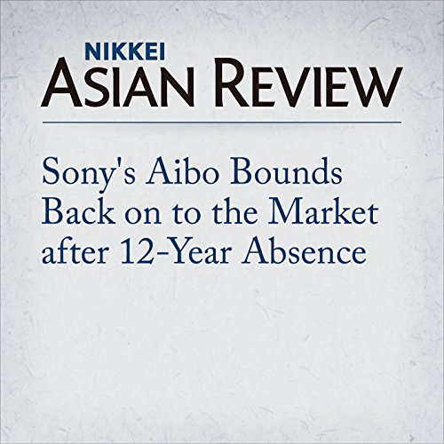 Sony's Aibo Bounds Back on to the Market after 12-Year Absence Titelbild