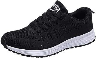Logobeing Zapatillas Deportivas de Mujer - Zapatos Sneakers Zapatillas Mujer Running Casual Yoga Calzado Deportivo de Exte...