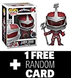 FunkoPOP Power Rangers: Lord Zedd Stylized Vinyl Figure + 1 Random Power Ranger Trading Card – Set