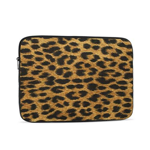 Funda para MacBook Pro Close Up Leopard Spot textura MacBook Air fundas multicolor y opciones de tamaño 10/12/13/15/17 pulgadas, maletín para tablet, multicolor (Multicolor) - laptopbag-3040-20210302