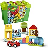 LEGO 10914 Duplo La boîte de Briques Deluxe, Jeu de Construction avec Rangement, Jouet éducatif pour bébés de 1 an et Demi