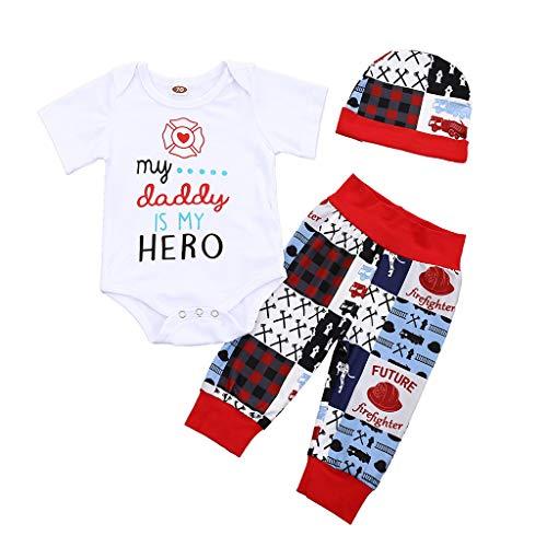Comie Ropa de bebé, conjunto de ropa para recién nacidos, body de manga corta, pantalones, sudadera de algodón, monos para bebés, conjuntos de ropa unisex para niños. Blanco 70 cm