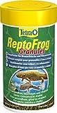 Tetra ReptoFrog Granules 100 ml - Alimento completo para ranas acuáticas y tritones