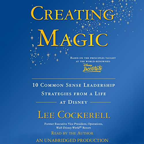 Creating Magic audiobook cover art