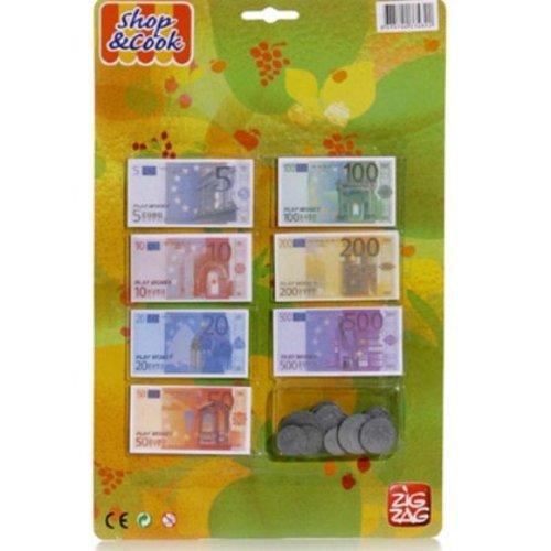 Kim'Play - 207 - Jeu d'imitation - Set Pièce et Billet Euro