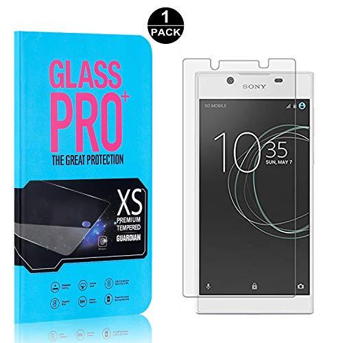 Bear Village® Displayschutzfolie für Sony Xperia L1 / E6, 9H Härtegrad Displayschutz, 99% Transparente, 3D Touch Schutzfilm aus Gehärtetem Glas für Sony Xperia L1 / E6, 1 Stück