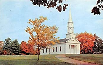 The Martha-Mary Chapel South Sudbury, Massachusetts Postcard