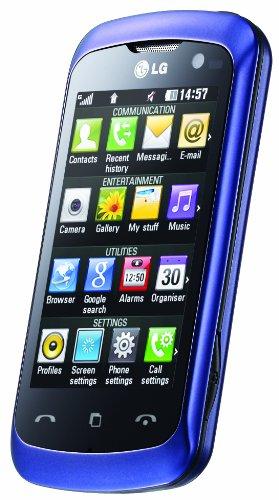 LG KM570 Arena II (7.6 cm (3 Zoll) Display, Touchscreen, 5 Megapixel Camera – Purple