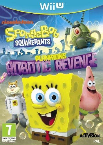 Spongebob Squarepants: Plankton's Robotic Revenge (Nintendo Wii U) [UK IMPORT]