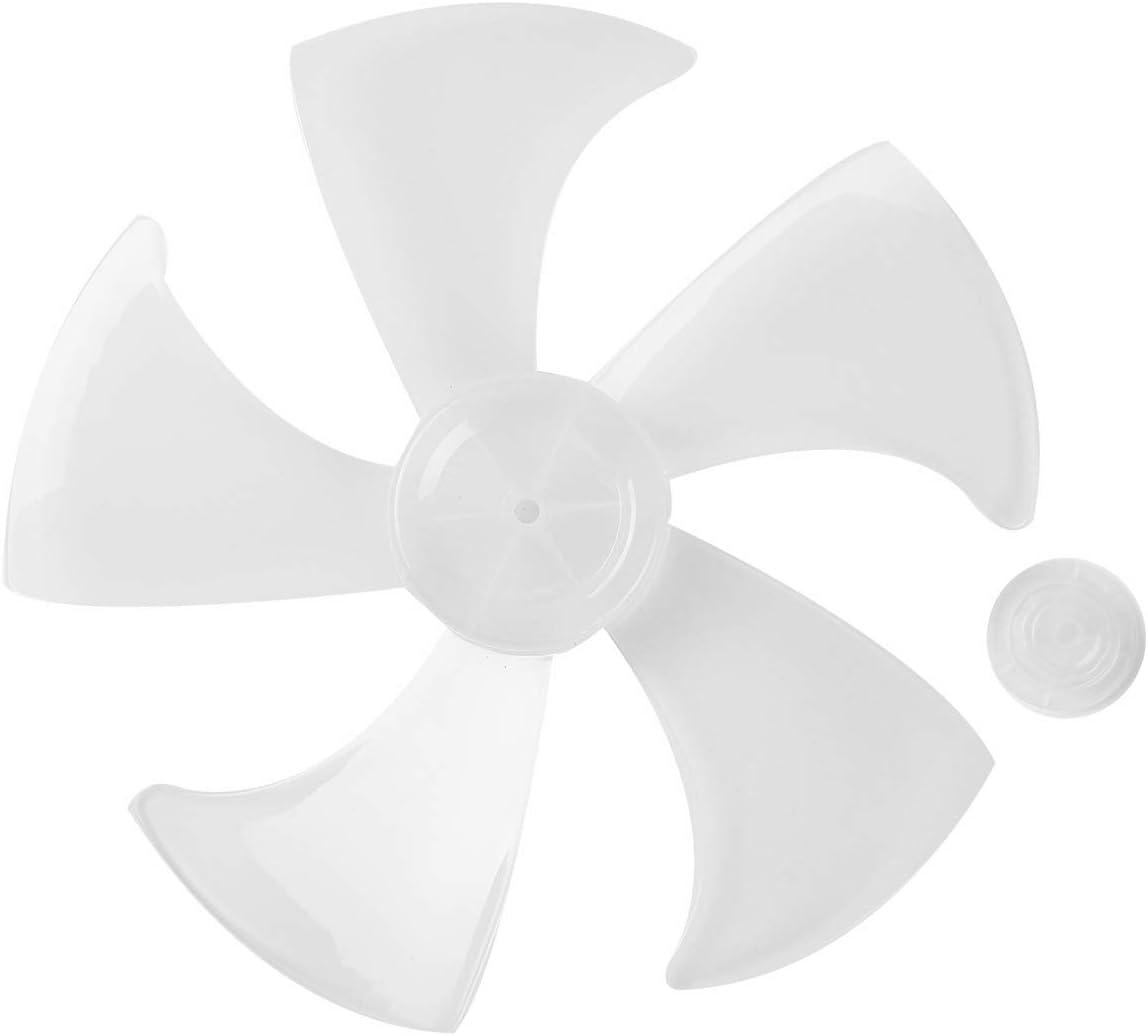 TiaoBug Aspas Hojas Plásticas de Ventilador Ventilador de Pie Ventilador de Mesa Ventilador de Techo Aspas Ventilador Repuestos Blanco A One Size