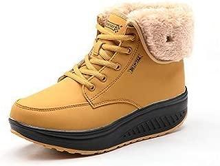 zaragfushfd Plus Velvet Sneakers Women's Thickening Casual Warm Cotton Shoes