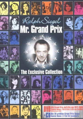 Various Artists - Ralph Siegel: Mr. Grand Prix (+ Audio-CD) [2 DVDs]
