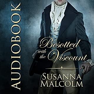 Besotted with the Viscount audiobook cover art