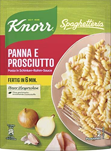 Knorr Spaghetteria Panna e Prosciutto Nudel-Fertiggericht 2 Portionen (1 x 166 grams)
