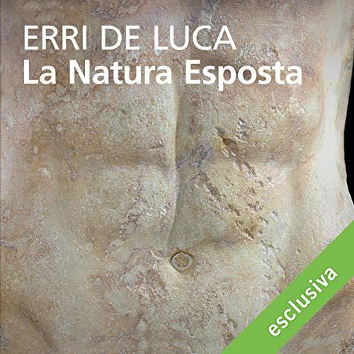 La natura esposta audiobook cover art