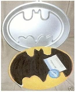 Wilton Batman Emblem Bat Logo Cake Pan (2105-9490) DC Comics Retired Collectible