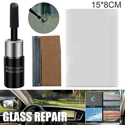 Windschutzscheiben Reparatur Set,Auto Windschutzscheiben Reparaturset Werkzeug, Windshield Repair Kit für Autofenster Glas Riss Chip Harz Windschutzscheibe Reparatur DIY Tool Kit