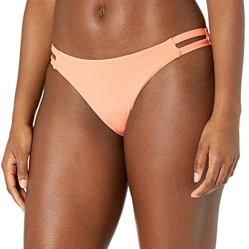 Billabong Parte inferior de bikini Lowrider para mujer - naranja - Small