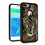 iPhone 7 Plus Case, iPhone 8 Plus Case,Spsun Dual Layer Hybrid Hard Protector Cover Anti-Drop TPU Bumper for Apple iPhone 7 Plus (2016)/iPhone 8 Plus (2017),Deer Hunting Camo
