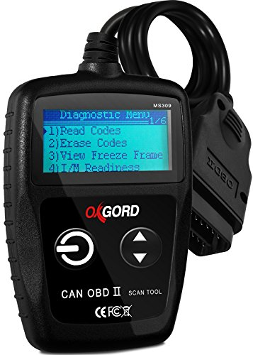 OxGord OBD2 Scanner Code-Reader-Reset Tool MS309 - No Computer or Phone Needed Diagnostic for Cars...