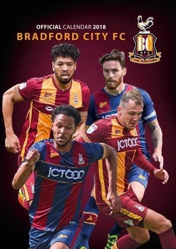 Bradford City A.F.C. Official 2018 Calendar - A3 Poster Format Calendar