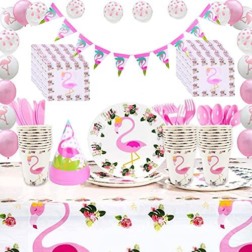 Flamingo Geschirr Set, Flamingo Topf Tasse, Flamingo Party Dekoration, Flamingo Party Set, Flamingo Party Dekorationen, Geburtstag Flamingo Dekorationen, Kinder Geburtstag Dekorationen.