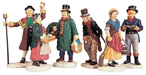 Figuritas de Navidad de habitantes del pueblo, de la marca Lemax, pack...