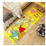 maishi Rugs Carpet Long Floor Mat Kitchen Children'S Bedroom Living Room Cartoon Winnie The Pooh Nursery Hallway Bath Home Decor Gift Baby Kid Play Crawl