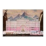 Movice The Grand Budapest Hotel Unframe: 16 × 24 pulgadas (40 × 60 cm)