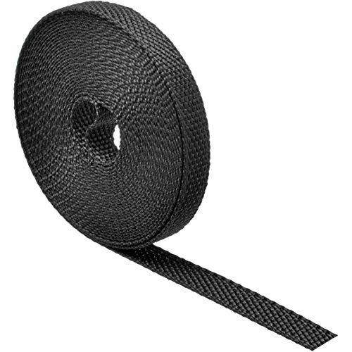 Schellenberg 46007correa de persiana (Mini 14mm de ancho, 6m de largo/Negro