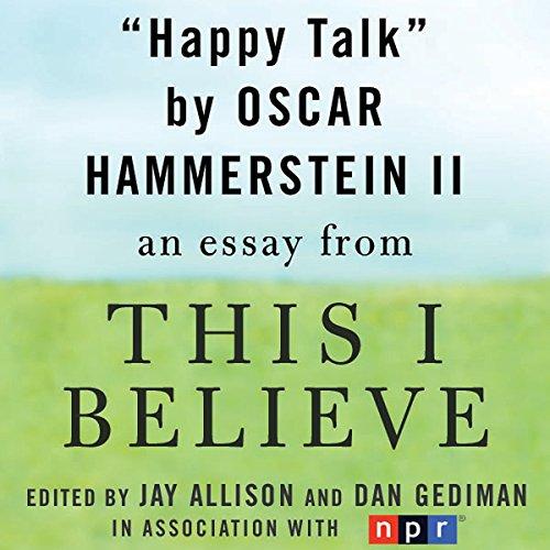 Happy Talk audiobook cover art