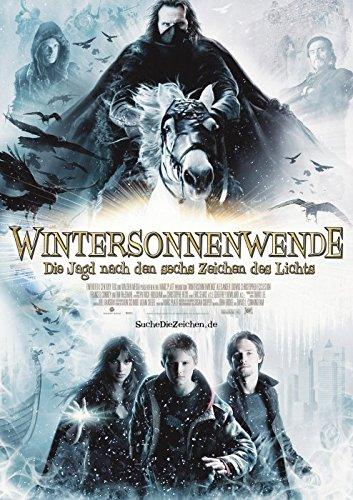 Wintersonnenwende - Die Jagd nach den sechs Zeichen des Lichts (2007)   original Filmplakat, Poster [Din A1, 59 x 84 cm]