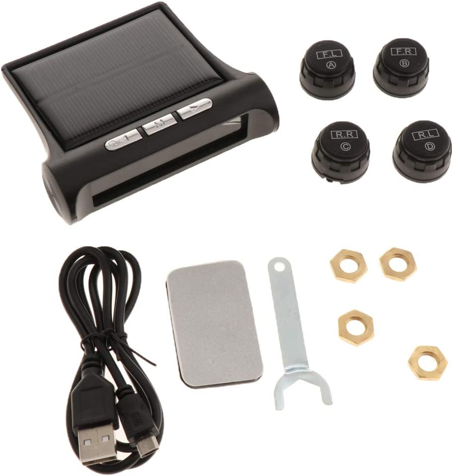 Homyl Colorado Springs Mall Smart Universal TPMS Tire Pressure System Monitoring with Inventory cleanup selling sale