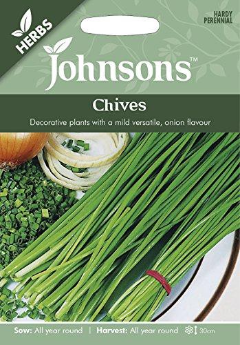 Johnsons Graines???Lot de g?n?rations???herbes???ciboulette???750?graines