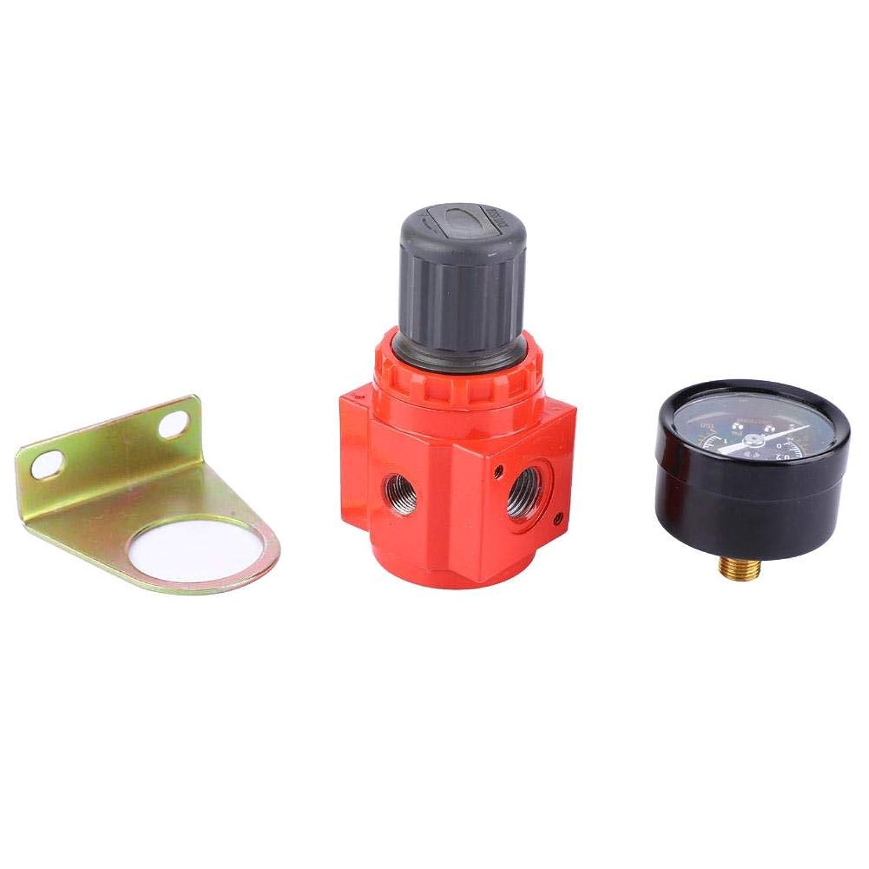EBTOOLS 空気圧レギュレータ エアフィルター エアソース処理 金属材質 適用圧力範囲0?1MPa (G1/4