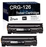 Compatible 2 Pack Black 126 Toner Cartridge Used for Canon ImageClass LBP6230dn...