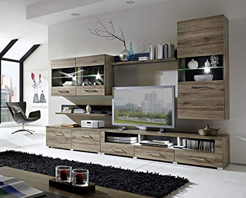 Peter DLZZ631080 Wohnprogramm, Holz, braun, 49 x 300 x 203 cm - 4