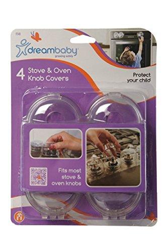 Dreambaby G141 Herd-Bedienelemente-Schutz Herdschutz Kindersicherung (4er)