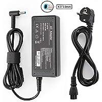 Fuente de alimentación Universal para portátil HP Elitebook Folio, Spectre Ultrabook, Pavilion Touchsmart y más (19,5 V, 2,31A, 45W)