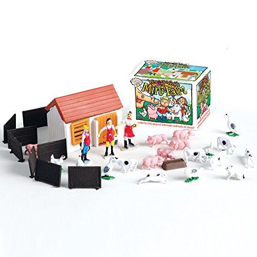 House of Marbles Teeny Tiny Mini Farm Playset