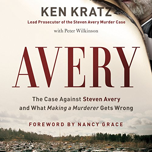 Avery audiobook cover art