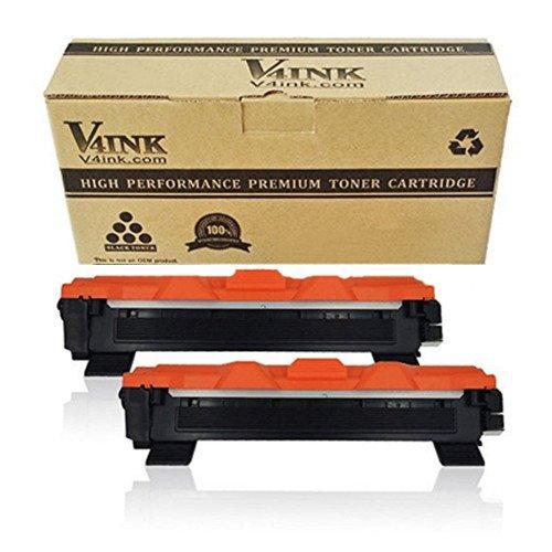 v4ink Toner ersetzt Brother TN-1050 TN1050 für Brother HL-1110, HL-1112, HL-1210W, HL-1212W, DCP-1510, DCP-1512, DCP-1610W, DCP-1612W, MFC-1810, MFC-1910W Drucker, 1000 Seiten für Schwarz, 2 Stück