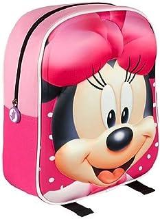 2100001508 - Mochila Infantil Minnie Mouse, Rosada