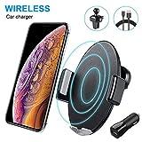 AURSEN Support de Téléphone Portable Automatique Inductif, Qi 10W/7.5W Chargeur de...
